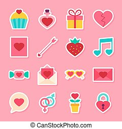 Valentine Day Stickers