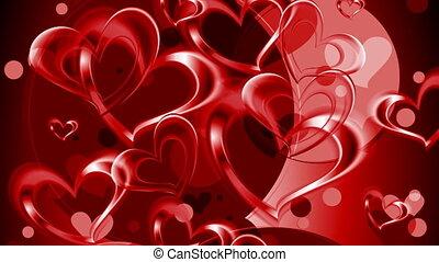 Valentine Day video animation