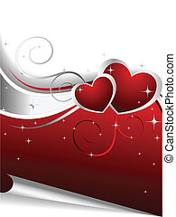 Valentine Day's Illustration - Vector illustraton...