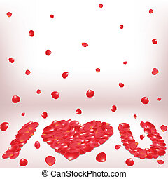 declaration of love - Valentine declaration of love with...