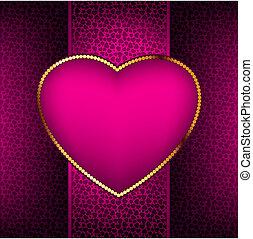 valentine, dzień, card., eps, 8