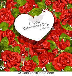 valentine dzień karta
