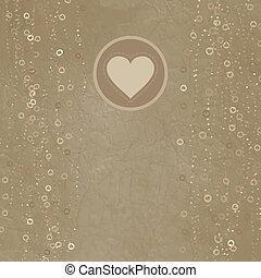 valentine, eps, 8, jour, carte, design.