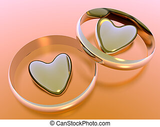 valentine, feriado, love., corazones