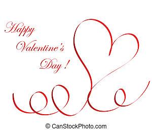 valentine frame - Abstract Valentine days background