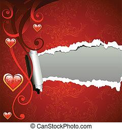 Valentine frame background