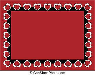 Valentine Frame or Tag