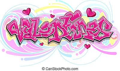 Valentine Graffiti