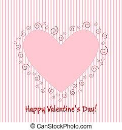 Valentine greeting card EPS10