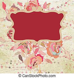 Valentine hand drawing background. EPS 8