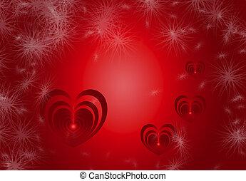 Valentine Heart Background 6