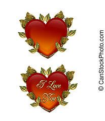 Valentine Heart Graphics Isolated 2