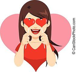 Valentine Heart Lollipop