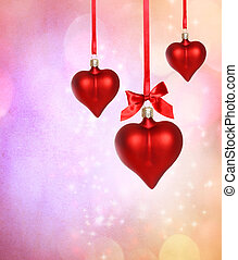 Valentine Heart Ornaments