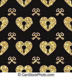Valentine Heart Seamless Pattern 1