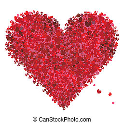 Valentine heart shape, love