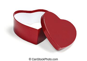 valentine heart shaped gift box