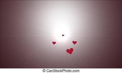 Valentine hearts moving travel center