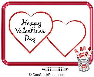Valentine Hearts, Whiteboard