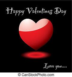 valentine, herz