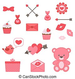 Valentine icon set