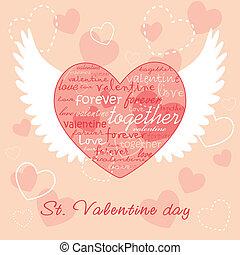 Valentine illustration