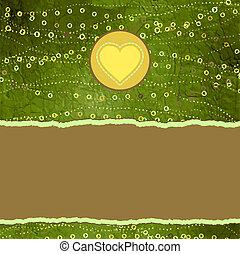 valentine karta, z, placeholder., eps, 8