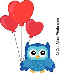 Valentine owl topic