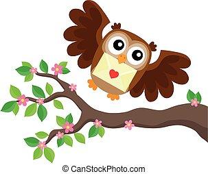 Valentine owl topic image 6