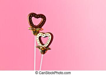 Valentine Plastic Hearts