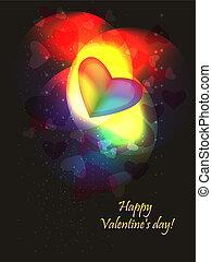 Valentine rainbow