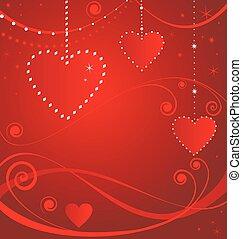 Valentine red card
