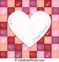 Valentine Retro Greeting Card