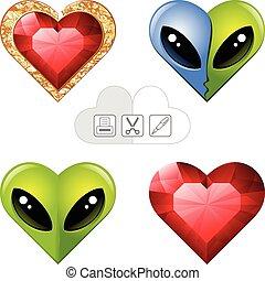 valentine s hearts 4