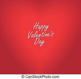 valentine, schlecht, vektor, herz, verwischt, fokus, tag, ...