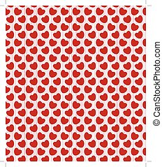 Valentine seamless with hearts