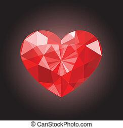 valentine, serce