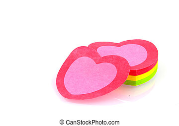 Valentine sticky notes