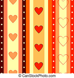 Valentine  striped seamless  background