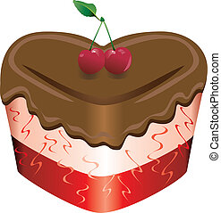 Valentine Sweets 2 - Vector Illustration of a Valentine ...