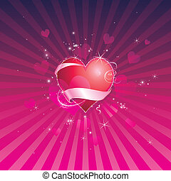 valentine, tło