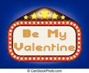 Valentine Theatre Marquee