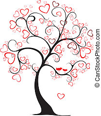 valentine tree - valentine day tree in my interpretation