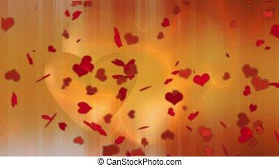 Valentine Video Background Loop_05_Red Heart