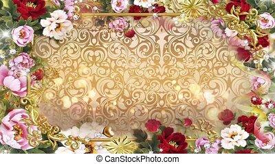 Valentine Video Background Loop_08_Pink Rose Petal
