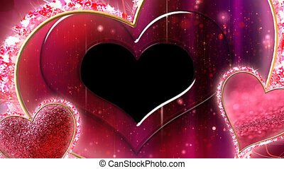 Valentine Video Background Loop_20_red abstract background...