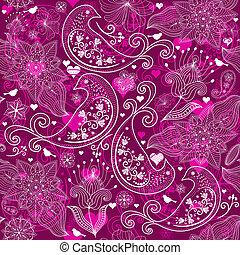 Valentine vinous repeating pattern - Seamless vinous ...