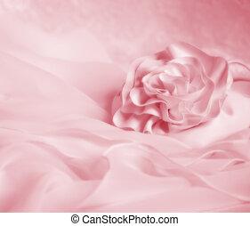 Valentine Wedding Background - Pink soft vignette wedding or...