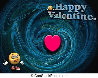 Valentine wishes.