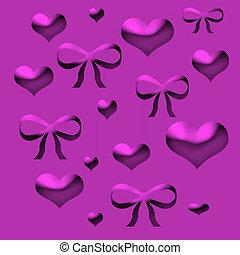 valentine wrapper - valentine  lavender wrapping paper